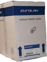 Кабель EUROLAN 5e UTP 4 пары категории 5е