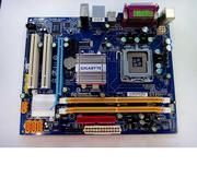Материнская плата GigaByte GA-945,  поддерживает Intel Core 2 Duo