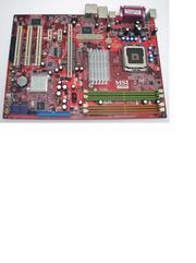Материнская плата MSI MS-7235,  P965,  LGA775,  поддерживает Core2 Duo